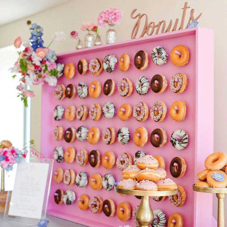 mur de donuts : donuts wall
