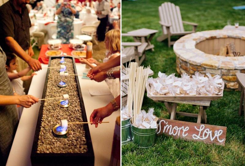 marshmallows pour mariage